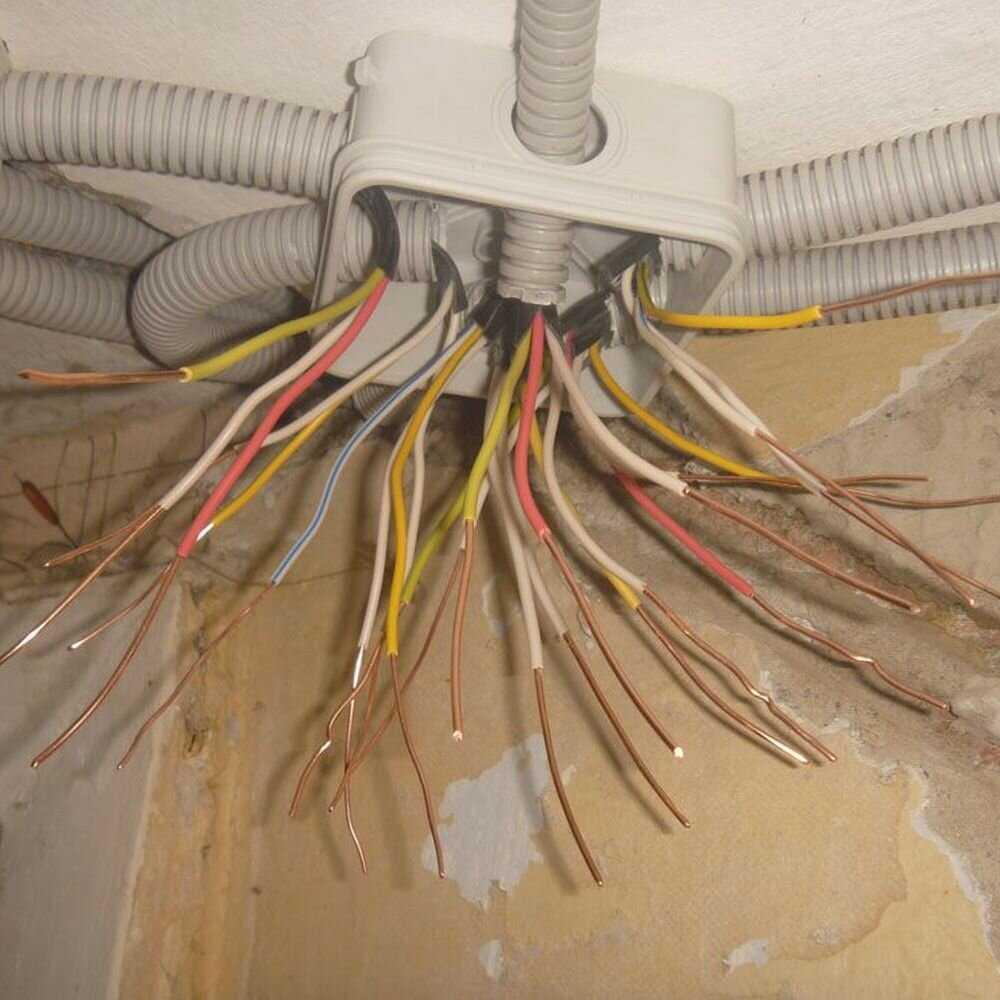 Монтаж электропроводки своими руками