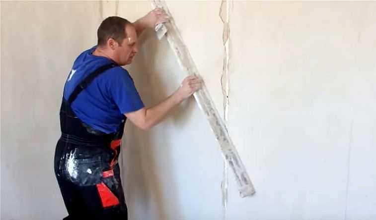 Как выровнять стены с помощью штукатурки и гипсокартона