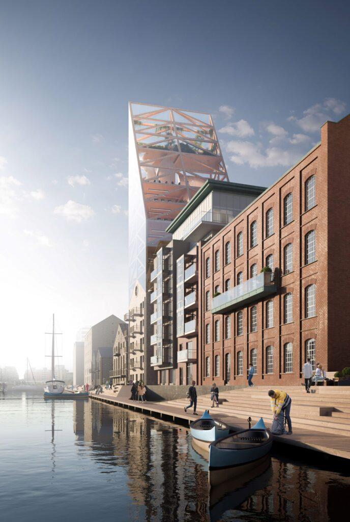 Построено самое высокое деревянное здание в Европе