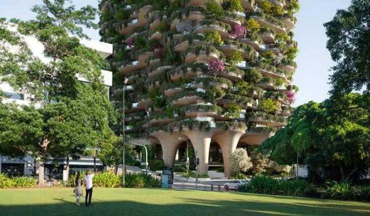 Городской лес. Самое зеленое жилое здание в мире