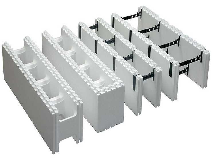 Строительство с использованием несъёмной опалубки из пенополистирола