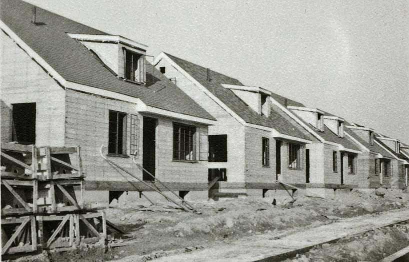 Первый в истории опыт массового малоэтажного строительства