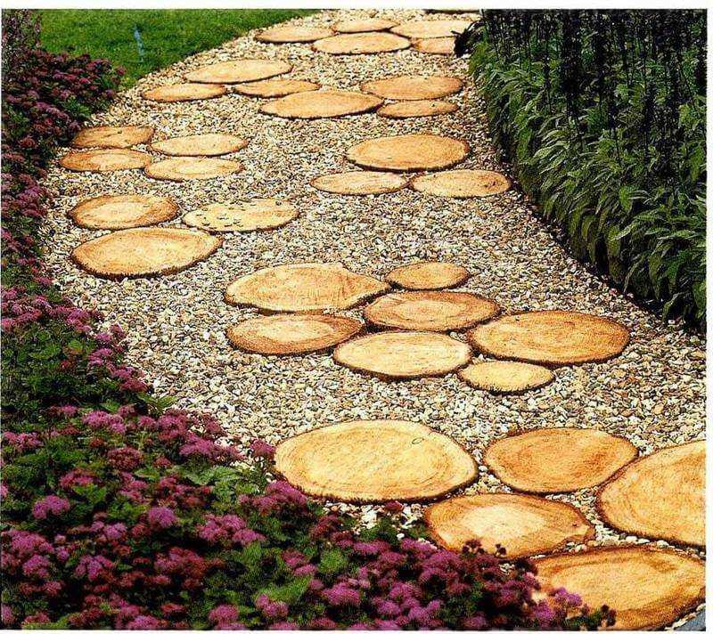 Все о садовых дорожках